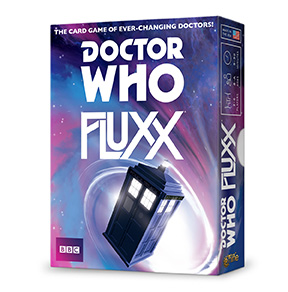 Looney Labs Doctor Who Fluxx The Card Game With Ever-Changing Doctors!