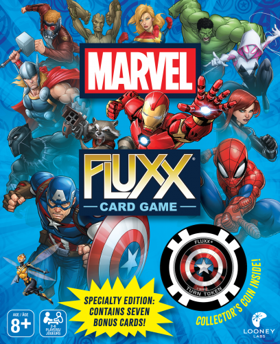 Marvel Fluxx Specialty Edition (T.O.S.) -  Looney Labs