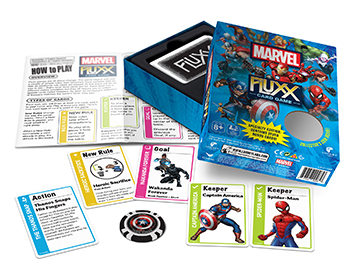 Looney Labs Marvel Fluxx Specialty Edition Card Game
