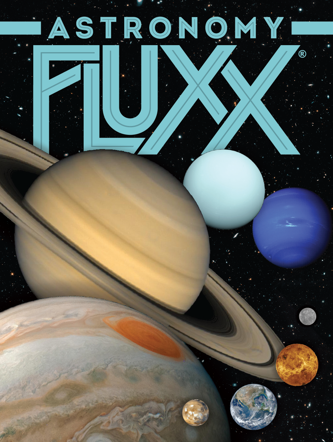 Astronomy Fluxx flat cover