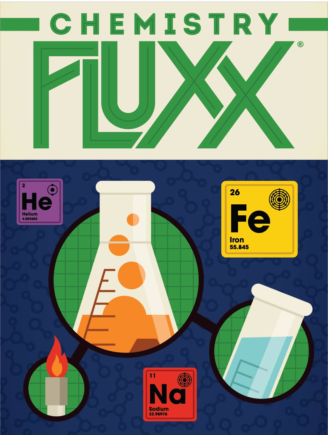 Chemistry Fluxx flat cover