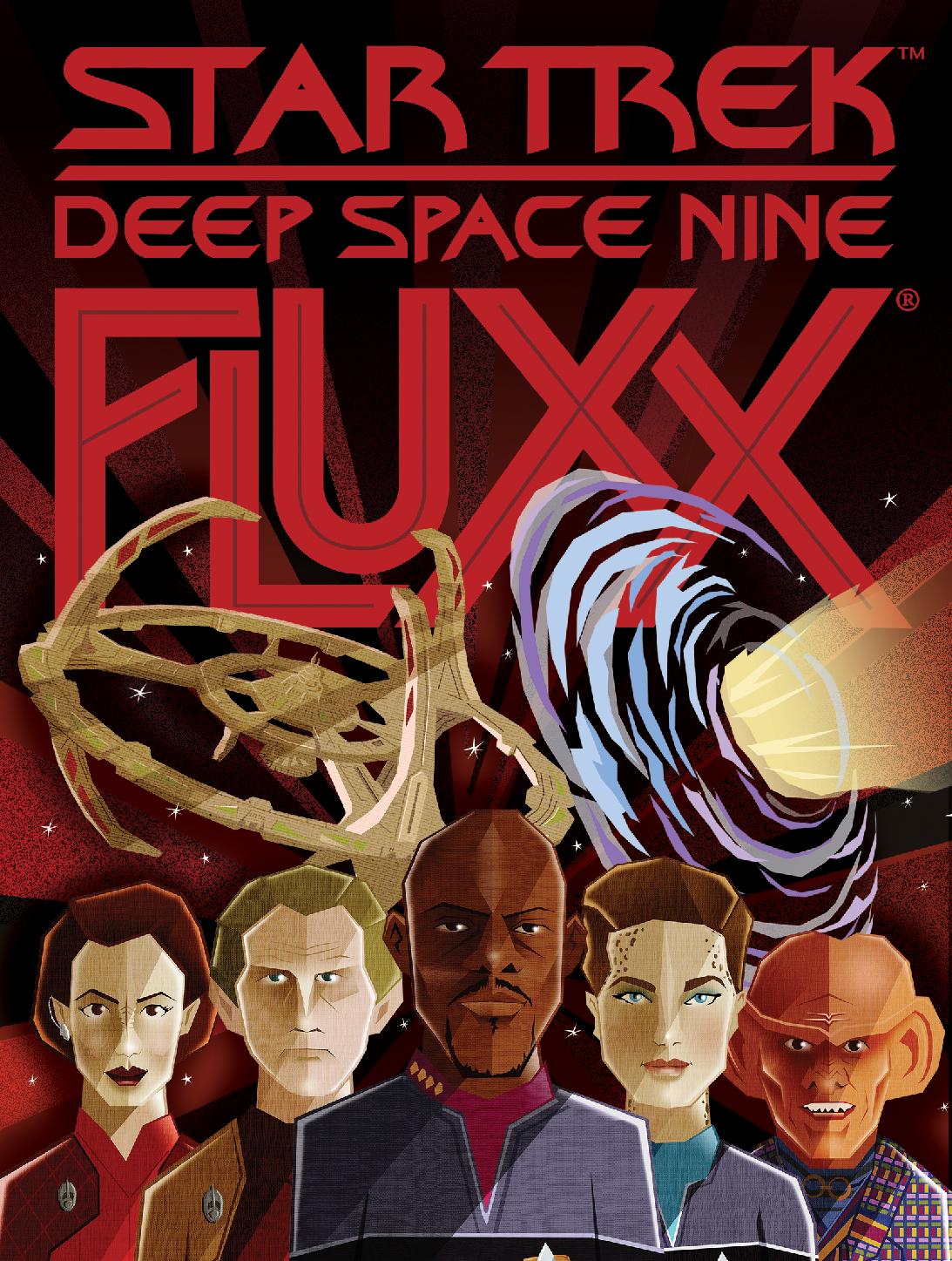 Star Trek: DS9 Fluxx flat cover