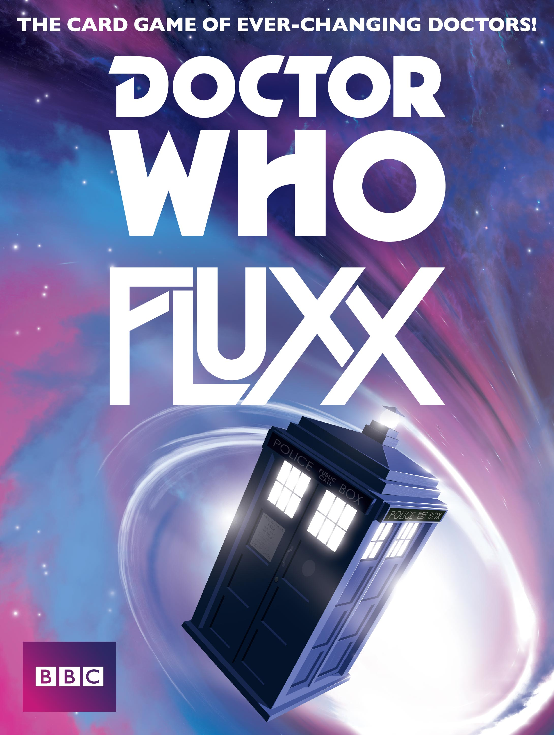 Doctor Who Fluxx flat cover
