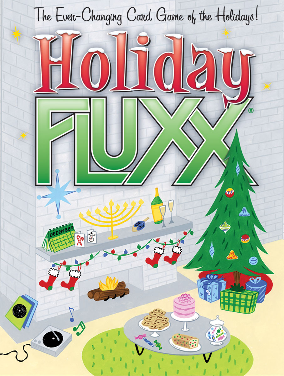 Holiday Fluxx flat cover