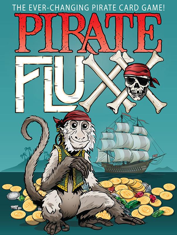 Pirate Fluxx flat cover