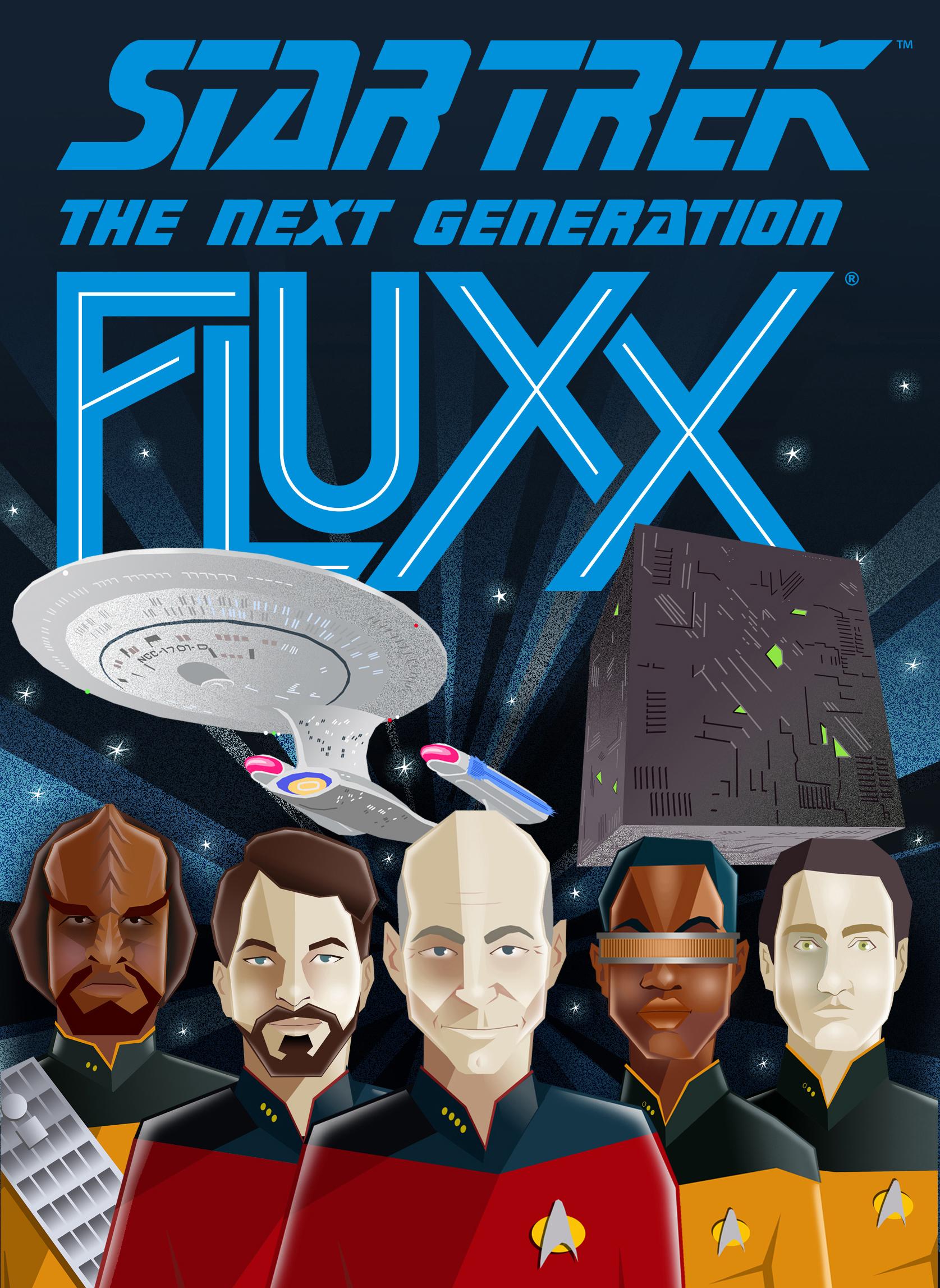 Star Trek: TOS Fluxx flat cover