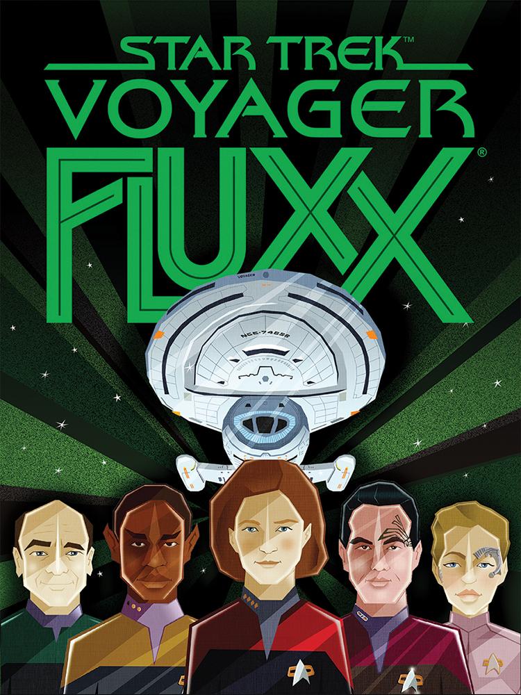 Star Trek: Voyager Fluxx flat cover