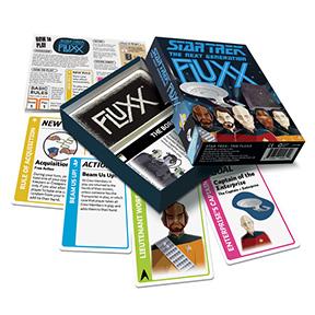 Star Trek Voyager Fluxx Card Game by Looney Labs LOO105