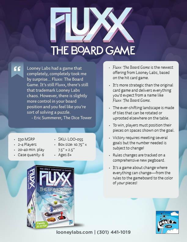 fluxxtbg sell sheet looney labs