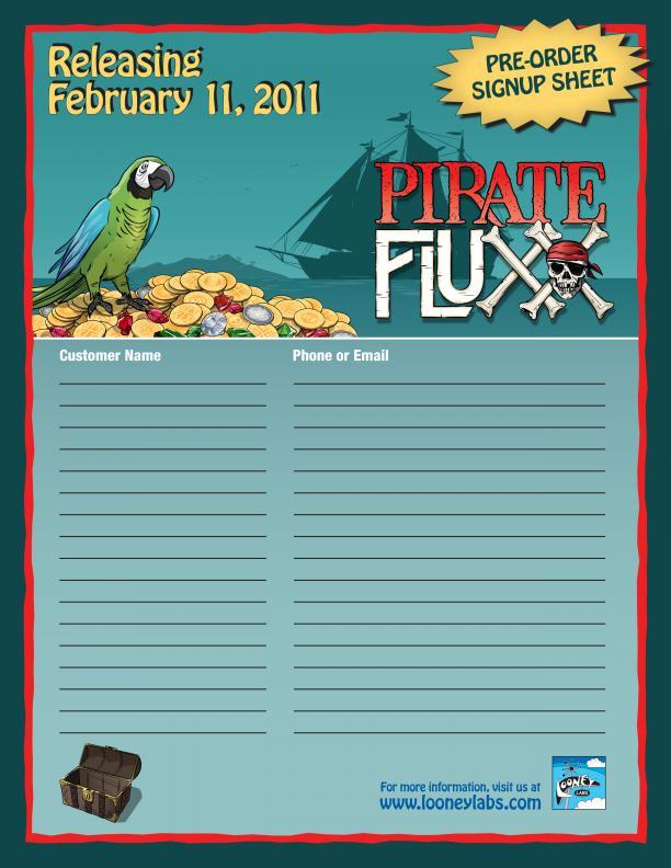pirate fluxx signup sheet